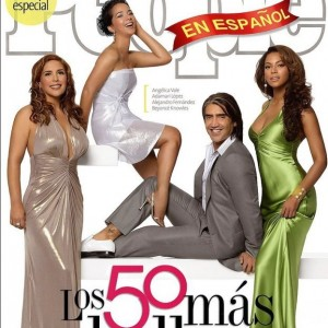 Beyoncé cover & scans - Los 50 más bellos - People magazine en Español - June 2007-cover2