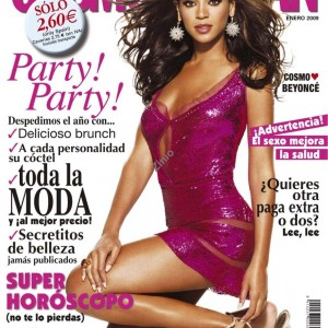 Beyoncé on the cover of Cosmopolitan magazine - Spain jan 2009cover