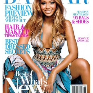 Beyoncé photoshoot by Patrick Demarchelier for Harper's Bazaar 2004cover2