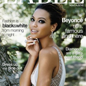 Beyoncé scans Label Magazine Spring 2009 cover