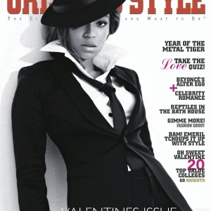 Beyoncé scans Orlando Style magazine Feb 2010 cover