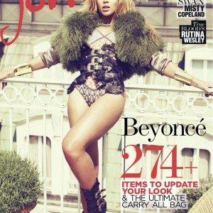 Beyoncé scans cover jones winter magazine 2011