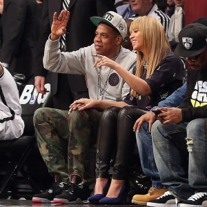 Beyonc &amp; Jay-Z attend the basketball game match Brooklyn Nets x The Knicks  - NY 26 nov 2012-3