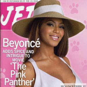 Beyonc cover &amp; article Jet Magazine issue 3 Feb 2006-1