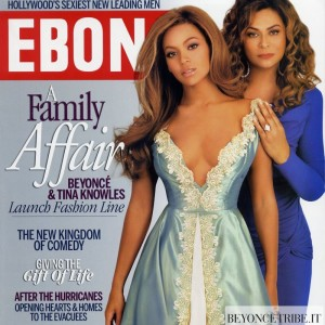 Beyonc cover &amp; article scans of Ebony Magazine Dec 2005 issue 1