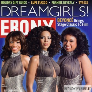 Beyonc cover &amp; article scans of Ebony Magazine Dec 2006 issue 1