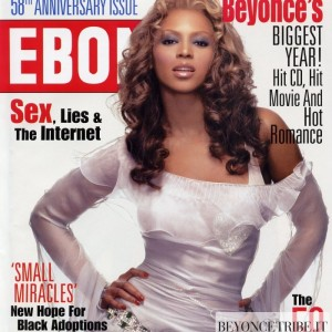 Beyonc cover &amp; article scans of Ebony Magazine Nov 2003 issue 1