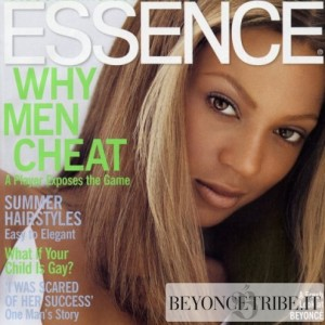 Beyonc cover &amp; article scans of Essence Magazine Aug 2003 issue 1
