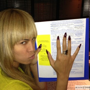 Beyonc voting 6 nov 2012 -1