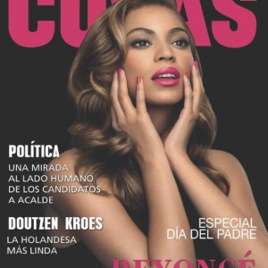 Beyoncé cover & scans of Cosas magazine n°142 - Bolivia Mar 2010cover