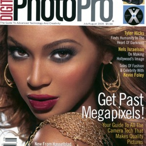 Beyoncé on the cover of PhotoPro magazine July 05 cover