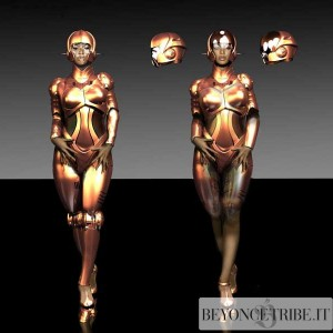 Beyonc Robot costume by Eddie Yang for Bet Awards performance 2007-1