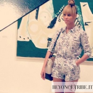 Beyonc at the International Contemporary Art Fair - Art Basel Miami 9 dec 2012-3