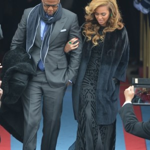 Beyonc e Jay-Z arrive for Inaugural Ceremony 21 jan 2013-3