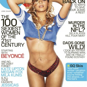 Scans Beyoncé cover & article on GQ USA Feb 2013Cover