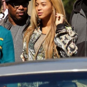 Beyonc, Jay Z and Solange Knowles at Gjelina restaurant 11 feb 2013 Venice - CA -1