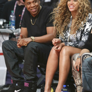 Beyonc &amp; Jay-Z: NBA All-Star Game 17 feb 2013
