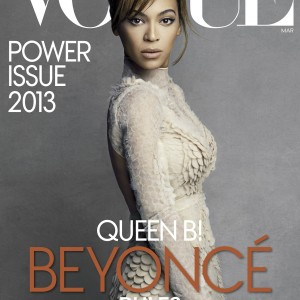 Beyoncé article scans Vogue US magazine march 2013-2