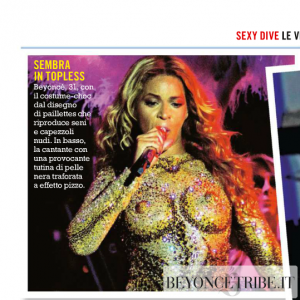 2Beyoncé article scan Oggi magazine Italy may 2013