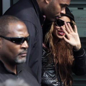 2Beyonc arriving in Bratislava - Slovakia 19 april 2013