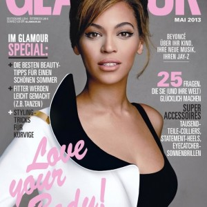 Beyoncé cover GLAMOUR Deutschland may 2013
