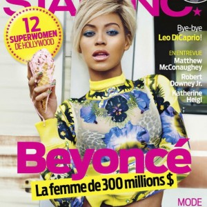 Beyoncé on the cover of Star Inc. magazine Canada may 2013