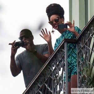 Beyonc &amp; Jay-Z leaves the Saratoga Hotel in Havana 5 april 2013