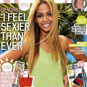 Beyoncé on the cover of More! magazine UK 24 april 2013