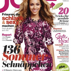 1Beyoncé cover & article scans Jolie Magazine n°6 - Deutschland Jun 2013
