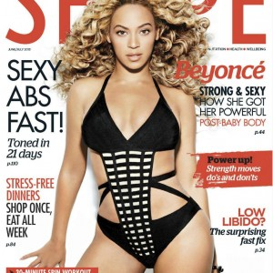 1Beyonc cover &amp; article scans Shape Magazine Australia - June:July  2013