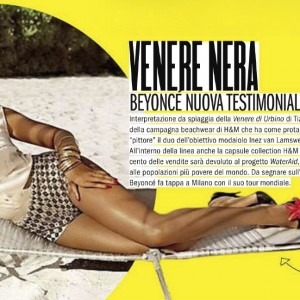 Beyoncé article scans Max magazine - Italy may 2013