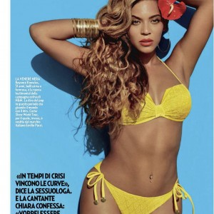 Beyonc article scans Gente magazine - Italy May 2013