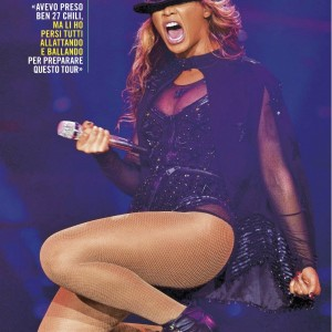 Beyoncé article scans Oggi magazine - Italy may 2013