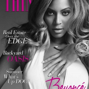 Beyoncé on the cover of Think magazine may 2013