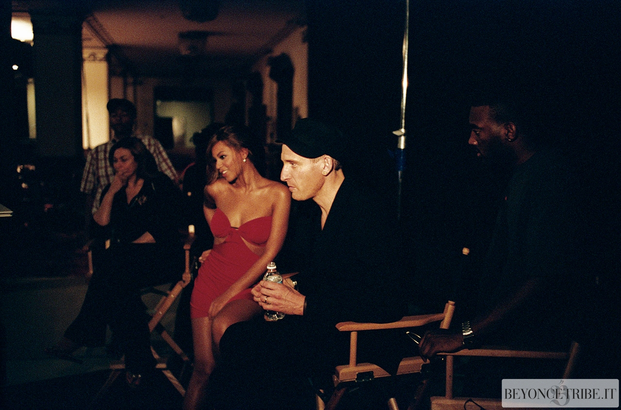 Beyonce On The Set Of Me Myself And I Music Video Photos By