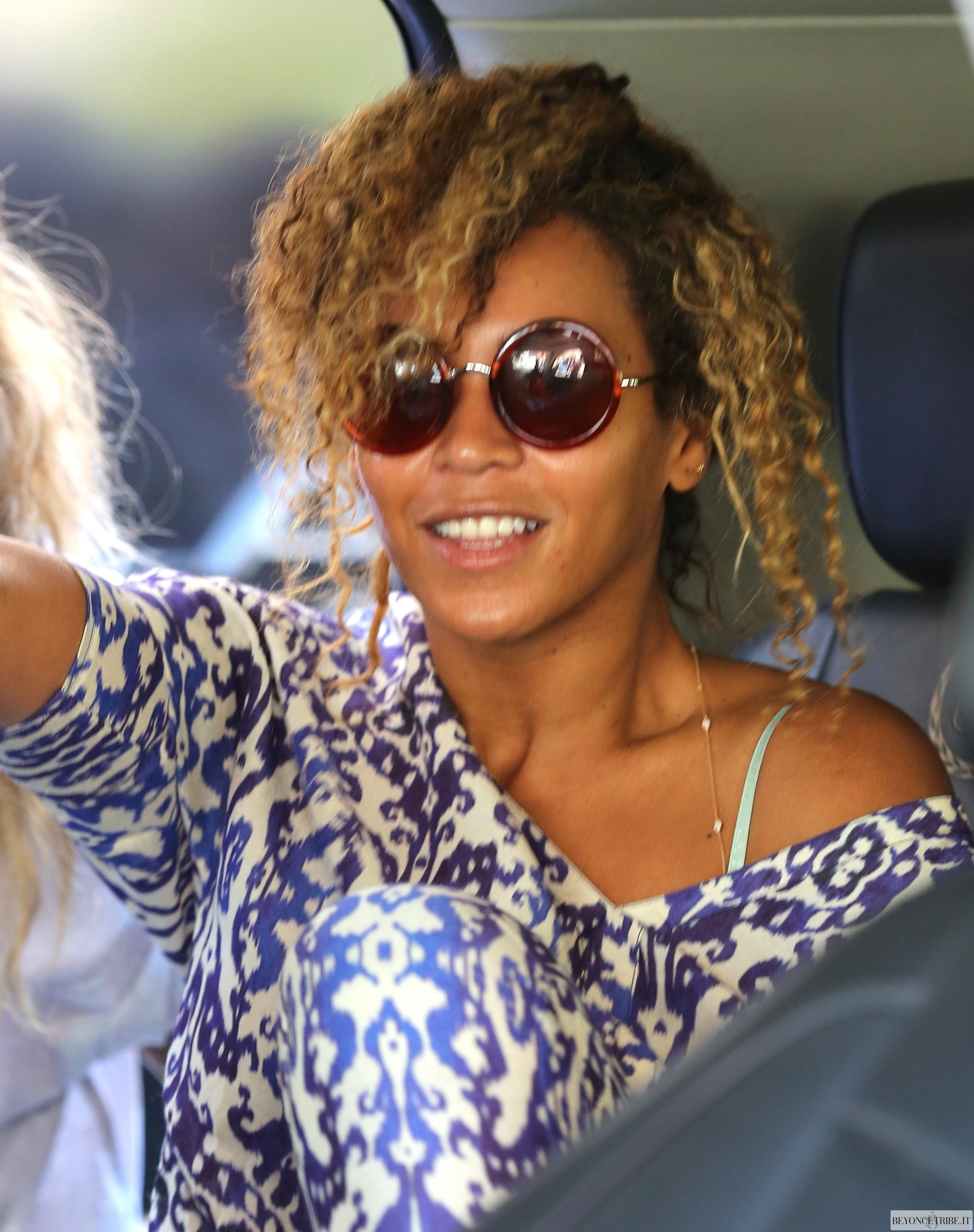 Beyoncé spotted at Lancer Dermatology Clinic on Rodeo Drive