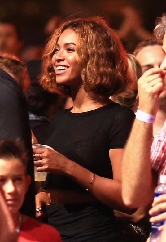 1Beyoncé at The Budweiser Made In America Music Festival