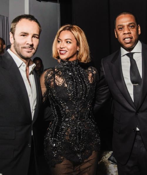 1banner beyonce jay z tom ford