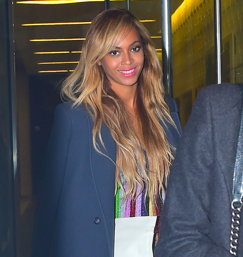 beyonce nyc 31 march 2015