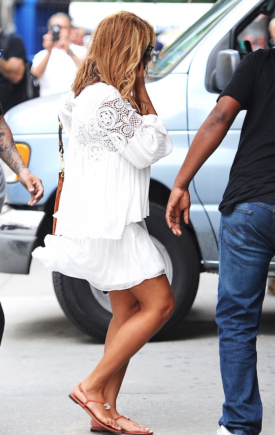 beyonce recording studio nyc 19 august 2015
