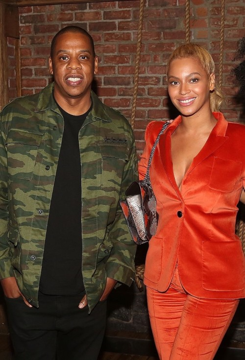 11Beyoncé and Jay Z  at the musical Hamilton on Broadway - NYC 21 OCT 2015