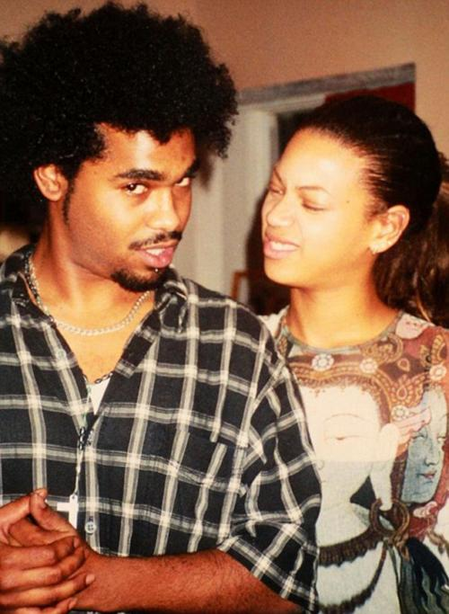 Lyndell Locke, 1st boyfriend of Beyonce Pictured Lyndell and Beyonce Image from internet - for Nikki